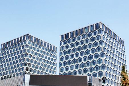 上海钢铁大厦高层防火涂料工程