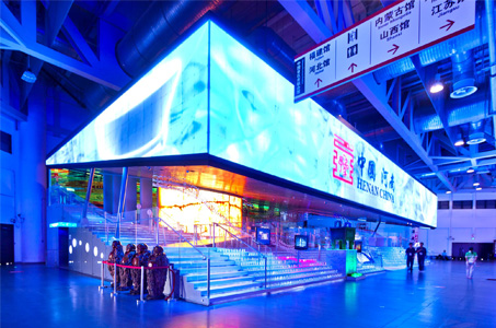2010上海世博会河南馆钢结构防火涂料工程