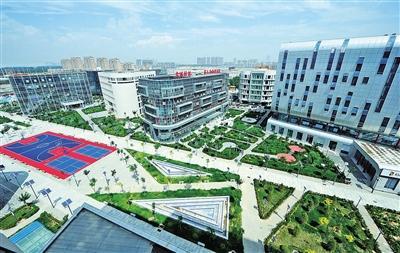 宁夏如意轻纺城工业园厂房钢结构防火涂料施工程