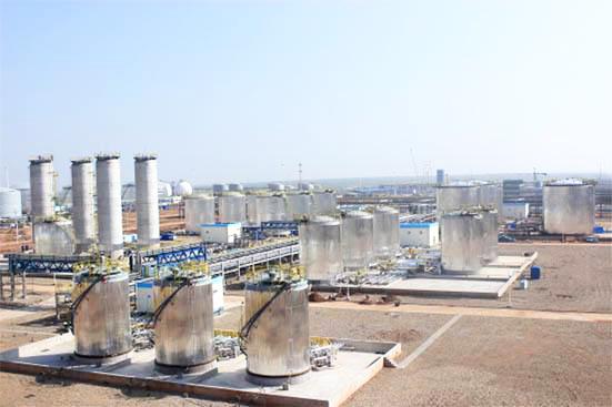 内蒙古伊泰化工钢结构防火涂料工程