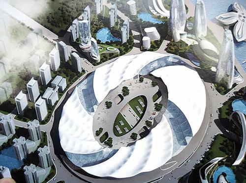 山东青岛博览城钢结构防火涂料工程项目