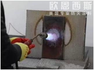 合格防火涂料在火灾发生时的重要性